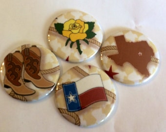 Texas Special Pocket Mirrors (1)  4 designs to choose from