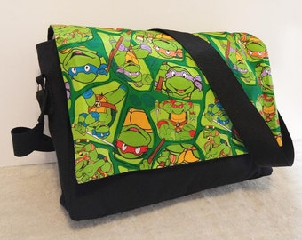 Classic Turtles Messenger Bag