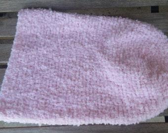 Pink, Baby Cocoon, Blanket, Baby Girl, Crochet, Sleep Sack, Sleeping Bag, Baby Shower Gift,  Ready to Ship