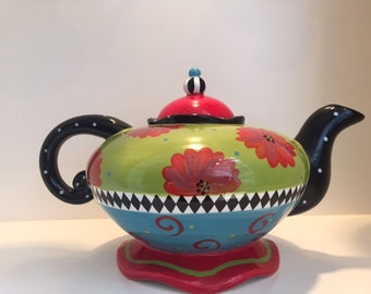 Joyce Shelton Ceramic Teakettle