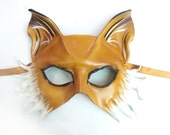 Leather Mask of a Fox or Dog