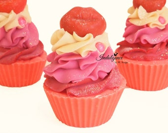 Sugar Lips Handmade Artisan Soap Cupcake
