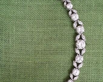 vintage high quality cz bracelet
