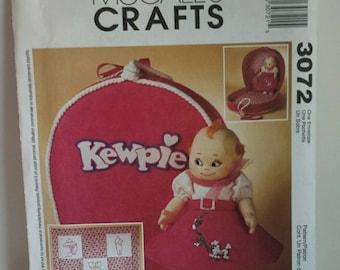 McCalls Pattern 3072 Kewpie Doll Pattern Uncut