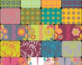 Clearance Sale  -  Field Day Collection 18 Fat Quarters by Alison Glass for Andover Fabrics OOP Hard to Find