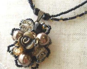 MIYUKI beaded necklace kit