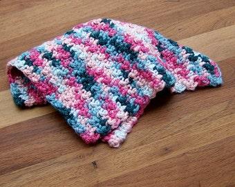 Crochet Bamboo Silk Washcloths - Set of Four - Spa Cloth