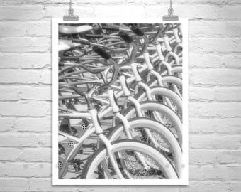 Bike Picture, Bicycle Wall Art, Black and White Photography, Schwinn, Bicycle Print, Abstract Art, Fine Art Print, Vertical Wall Art