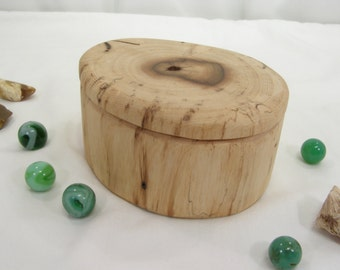 Oregon Ash Driftwood Box, guitar pick holder, engagement ring box, proposal box, presentation box, earring box, gift box, cuff link box