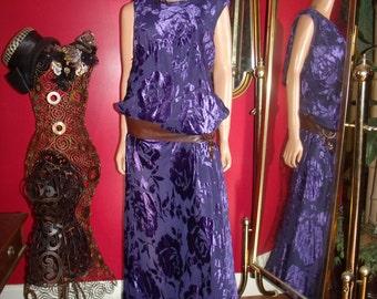 G. Gatsby Purple Flapper Dress  Size 20W