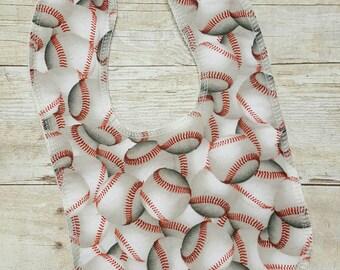 Baseball Drooler Bib - Super Absorbant - Wont Soak Through!