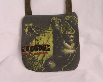 King Kong Tee Shirt Cross Body Bag