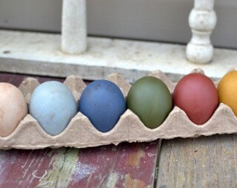 Primitive Painted Easter Eggs