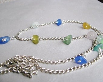 Sea Glass Necklace - Beach Glass Necklace - Sea Glass - Beach Glass Jewelry