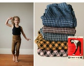 ON SALE Deadstock, 1960s Houndstooth Knit Pants~Size 2t to 8