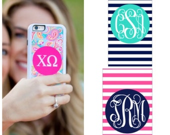 Personalized cell phone Monogrammed iPhone 6 / 6S case cover Apple