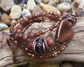Copper Memory Bracelet