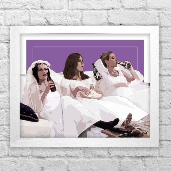 The One With All Wedding Dresses FRIENDS Tv Show Inspired