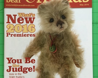Teddy Bear and Friends Magazine May 2016 Issue