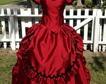 Interview with the Vampire Claudia's Gothic Victorian Gown Custom Halloween