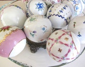 Fine China Patterned Home Decor Balls