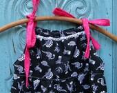 Ready to ship, Dinosaur dress,  3T, 4T, 5T, bohemian dress, bones dress, Autumn dress, boho dress, Fall dress