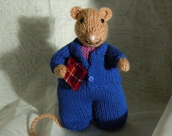 Send Best Wishes with a Boy Mouse makes a lovely gift for the man in your life