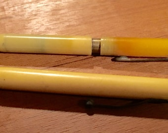 2 vintage mechanical pencils Bakelite