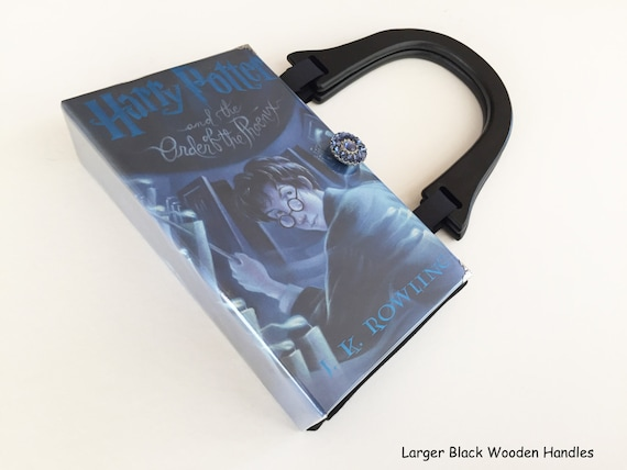 Harry Potter and The Order of The Phoenix Book Purse - Harry Potter Collector Gift - Harry Potter Book Cover Handbag