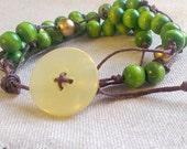 Chemistry Jewelry - Avogadro's Number Bracelet - Chemistry Teacher Mol Day Science Gift
