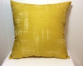 Decorative Pillow, Couch Pillow, Sofa Pillow, Throw Pillow, Bed Pillow, Chair Pillow, Decorative Throw Pillow, Yellow Pillow, Accent Pillow