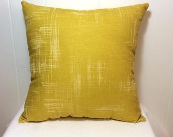 Decorative Pillow, Couch Pillow, Sofa Pillow, Throw Pillow, Bed Pillow, Chair Pillow, Decorative Throw Pillow, Yellow Pillow, Accent Pillow
