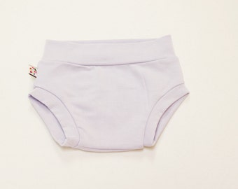 NEW! Lilac Bamboo Baby Bloomer Shorties Unisex