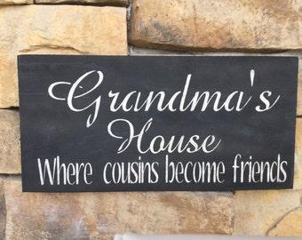 Grandmas House where cousins become friends