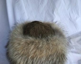Beautiful Mongolian, Russian, Norse coyote fur wool top