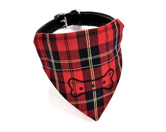 Red Tartan Neckerchief