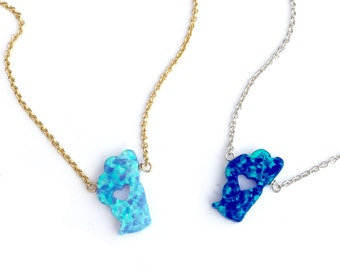Heart of Tahoe Necklace