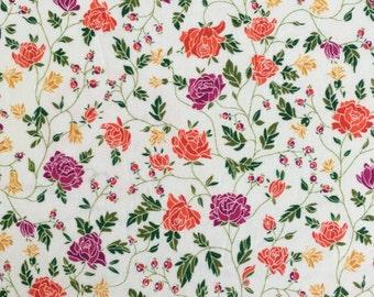 Liberty fabric RARE colour way of Williams tana lawn - stash builder 10ins x 13ins