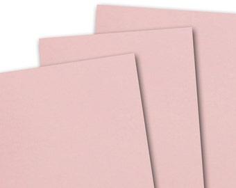 Basis PINK 80lb Card Stock 8.5x11 - 25 sheets