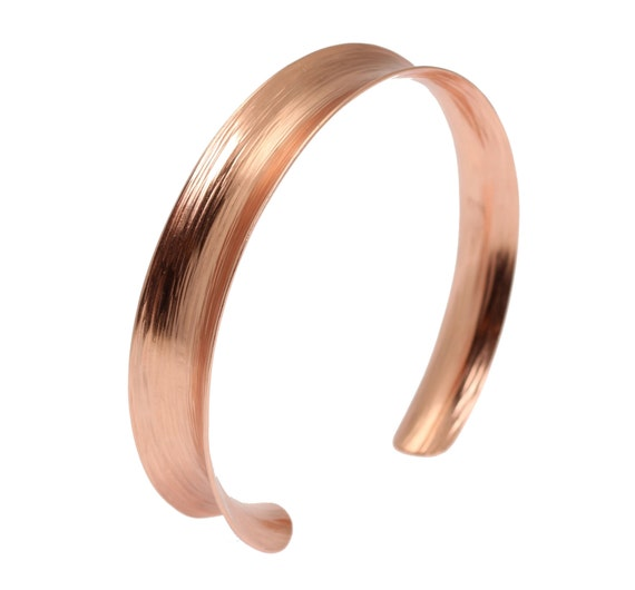 7 Year Anniversary Gift  Copper Bark Anticlastic Bangle 7th Anniversary Gift For Her Seven Year Anniversary Gift Copper Anniversary Gifts