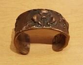Bronze Cash Register Cuff