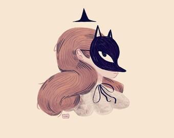 Fox Face - Print