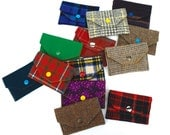 Recycled Wool or Cotton Wallet