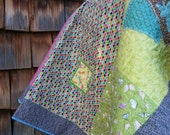 Handmade Lap ,Toddler, or Twin Quilt