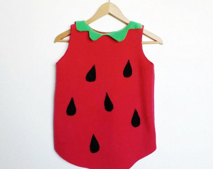 Featured listing image: Strawberry Costume, Kids Halloween Costume