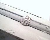 Minimalist Necklace . Minimalist Jewelry . Hammered Necklace . Simple Jewelry . Sterling Silver Necklace by Brag About It