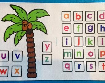 Chicka Chicka Boom Boom  Felt  Board Set  - Flannel Board Stories. Alphabet Letters