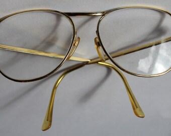 SALE! Vintage Amor Gold Filled Eye Glasses, Made in France, 1950's to 1960's era