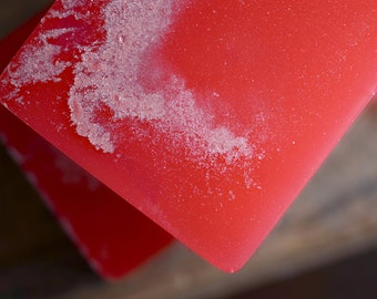 Grapefruit Soda Soap, Handmade Glycerin Soap - Summer Party