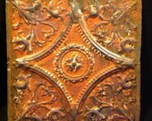 1 x 1 Decorative antique metal Turn of the Century ceiling tile